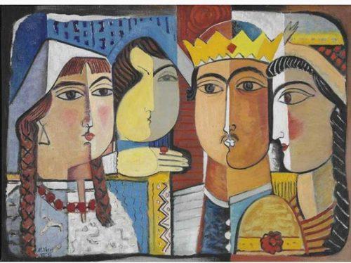 painting-by-Mohsen-Vaziri-Moghaddam-500x374