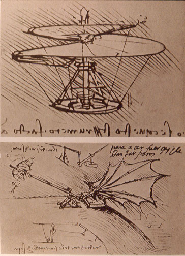 Leonardo_da_Vinci_helicopter_and_lifting_wing