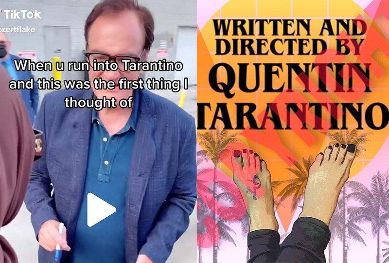 نوشته و کارگردانی شده توسط کوئنتین تارانتینو!