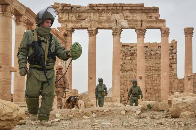 مناطق باستانی خاورمیانه در معرض خطر