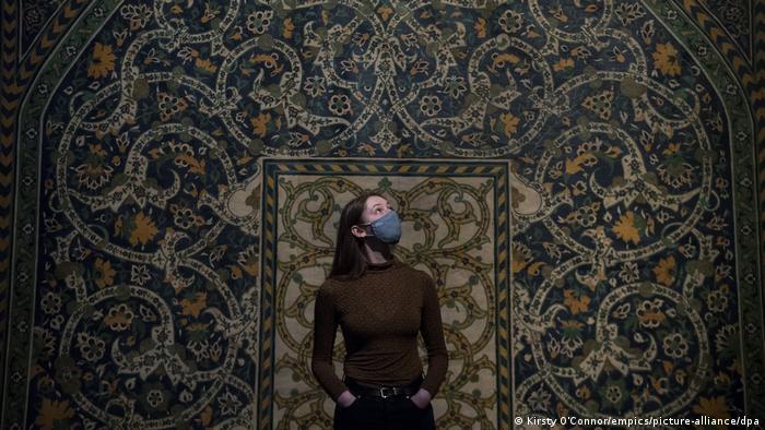 نمایشگاه ایران حماسی در موزه ویکتوریا و آلبرت افتتاح شد
