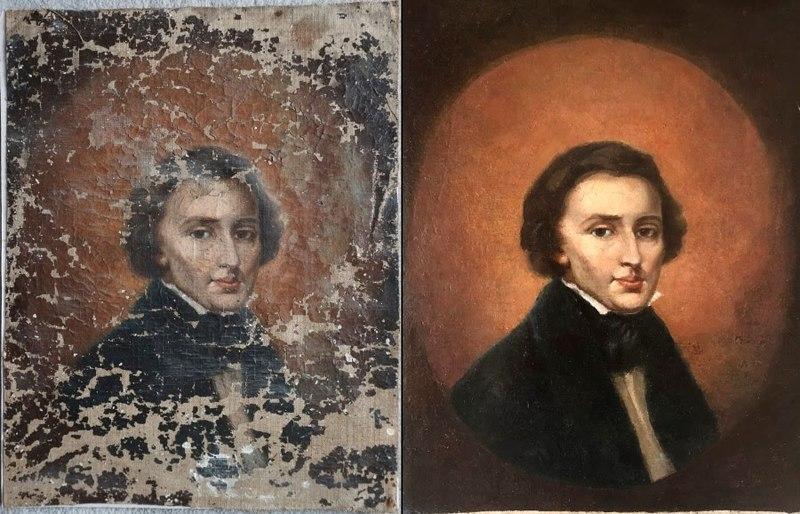 کشف اتفاقی پرتره ۱۷۰ ساله از فردریک شوپن
