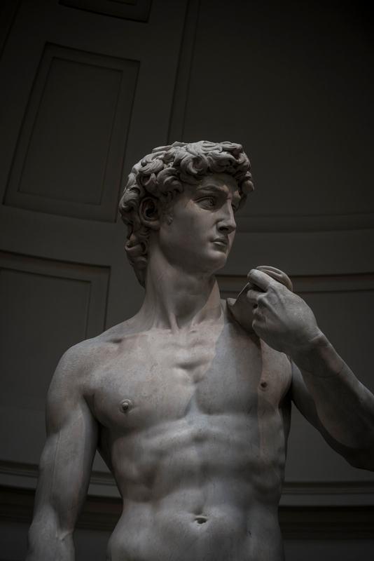 دوقلویی دیجیتالی برای مجسمه داوود شاهکار رنسانس