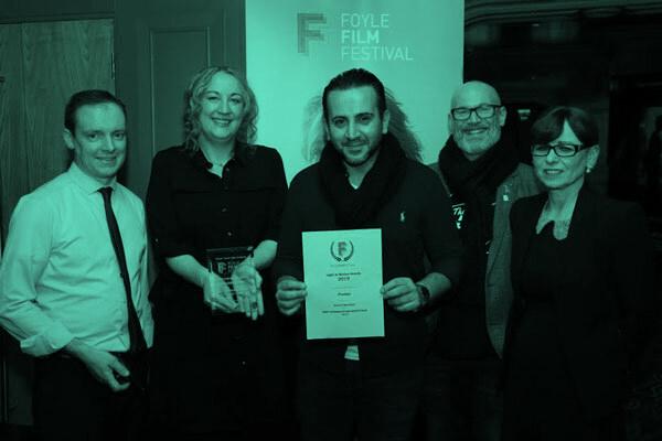 دریافت جایزه بهترین فیلم کوتاه در ایرلند