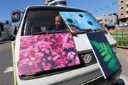وَنِ هنر به خیابانهای غزه رنگ میپاشد!