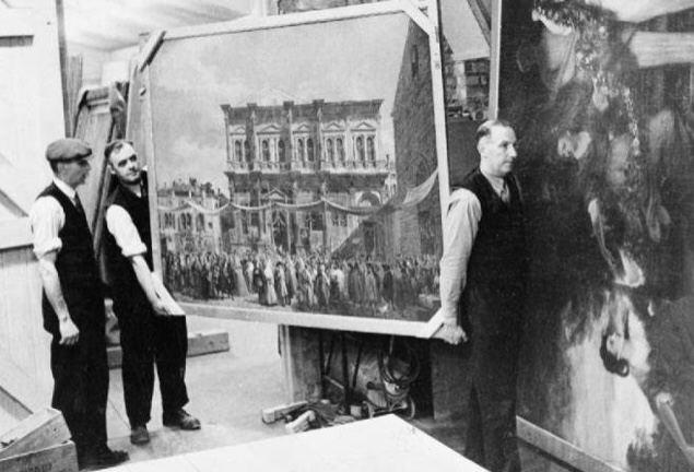 نجات گنجینههای موزه لوور از دست نازیها