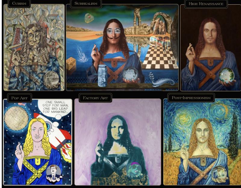 یکی از مشهورترین جاعلان دنیای هنر، اثار هنری جدیدش را به صورت NFT میفروشد