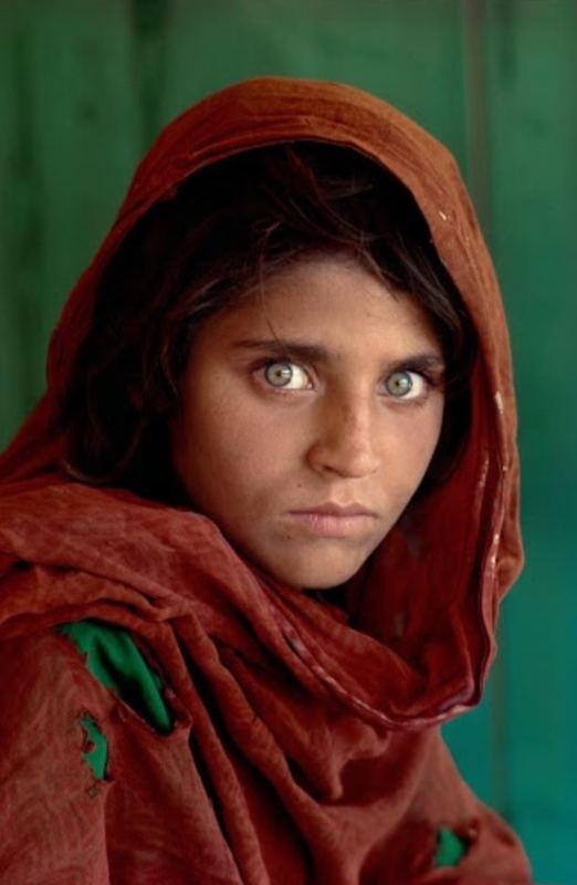 پرترهی دختر افغان رکورد زد
