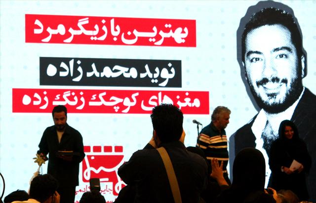 یک جایزه از بخش خصوصی سینمای ایران