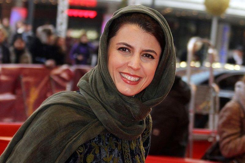 """تصاویر غیر رسمی از گریم لیلا حاتمی در سریال """"شبکه مخفی زنان"""" منتشر شد"""
