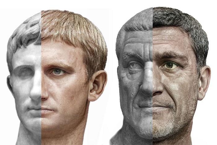 به نظر شما نرون امپراطور مستبد روم  چه شکلی بود؟