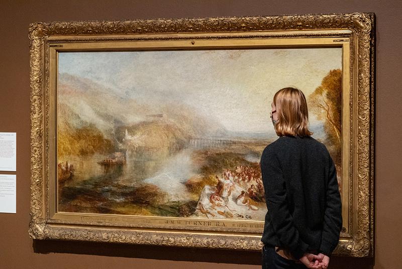 """موزه تیت مدرن لندن میزبان نمایشگاه """"دنیای مدرن ویلیام ترنر"""""""