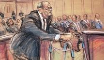 آثاری که جلسه محاکمه هاروی واینستین را ثبت کردند