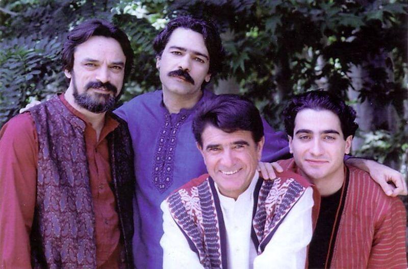 عکس نادیدهای که کیهان کلهر از محمدرضا شجریان منتشر کرد