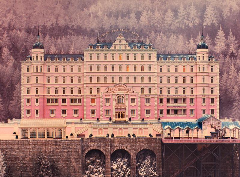 اهمیت رنگ در فیلم The Grand Budapest Hotel