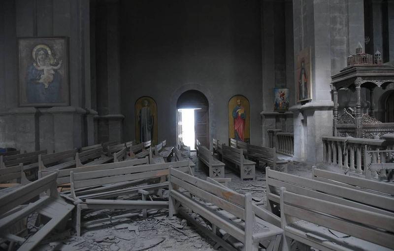 تخریب میراث فرهنگی قرهباغ توسط ارتش آذربایجان