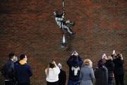 کیت وینسلت به آخرین اثر هنری بنکسی واکنش نشان داد