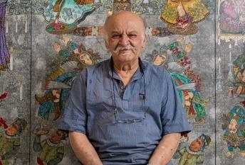 علی اکبر صادقی: از نگاه من و خانوادهام،  قرار بود که نقاش موفقی بشوم
