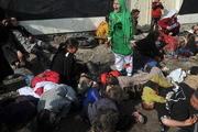 فریاد کودک افغان در عکسهای تکاندهنده