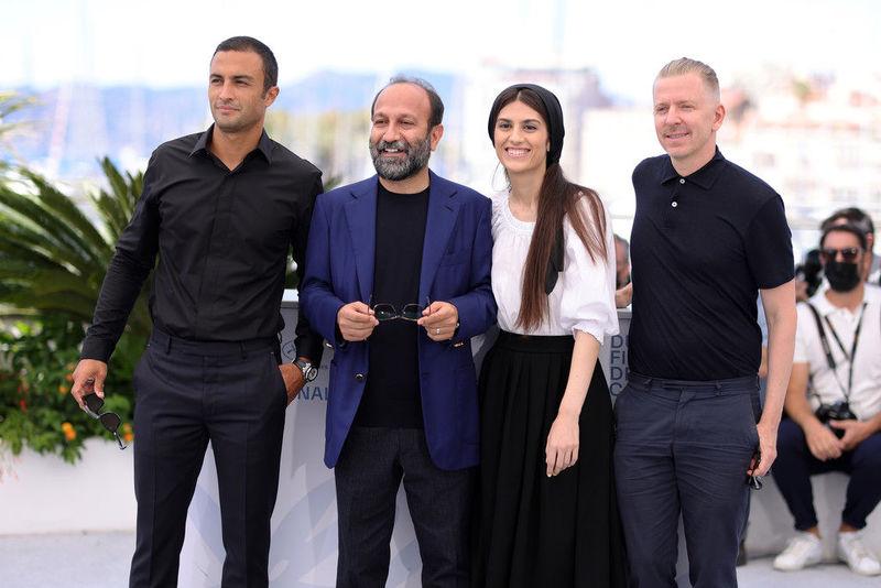 اصغر فرهادی در کنار ریدلی اسکات، اسپیلبرگ و دل تورو