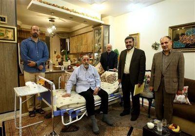 عیادت وزیر ارشاد از جمال شورجه، ابراز امیدواری از تولید سریال حضرت موسی