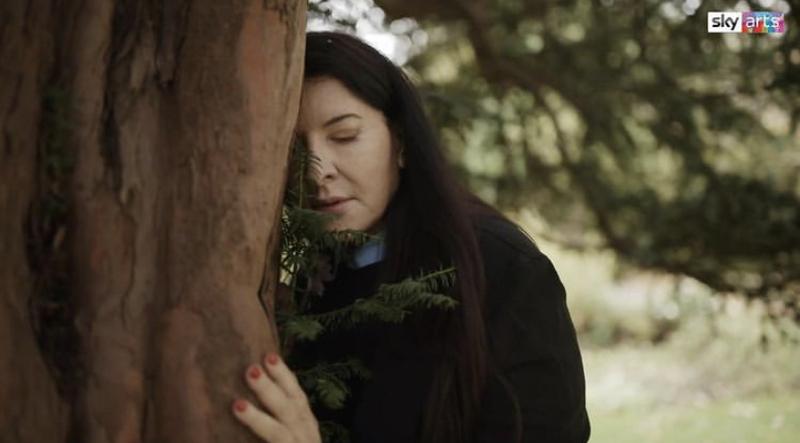 مارینا امبرامویچ مردم را دعوت میکند که درختان را در آغوش بگیرند و اتفاقات تلخ سال ۲۰۲۰ را فراموش کنند