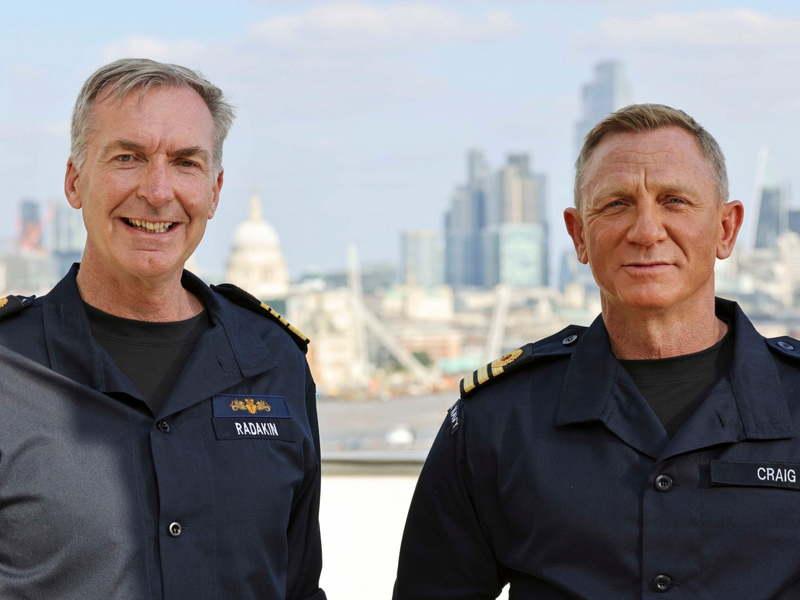 «دنیل کریگ» فرمانده افتخاری نیروی دریایی سلطنتی بریتانیا شد