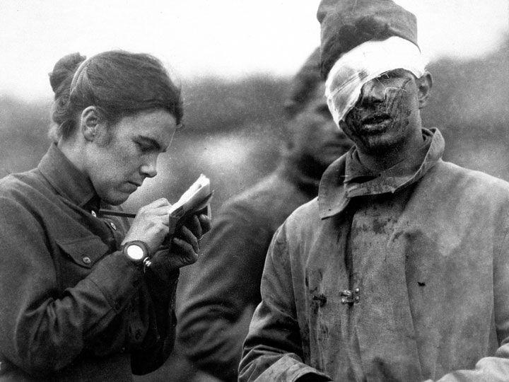 صحنههایی از جنگ جهانی اول به قلم زنان