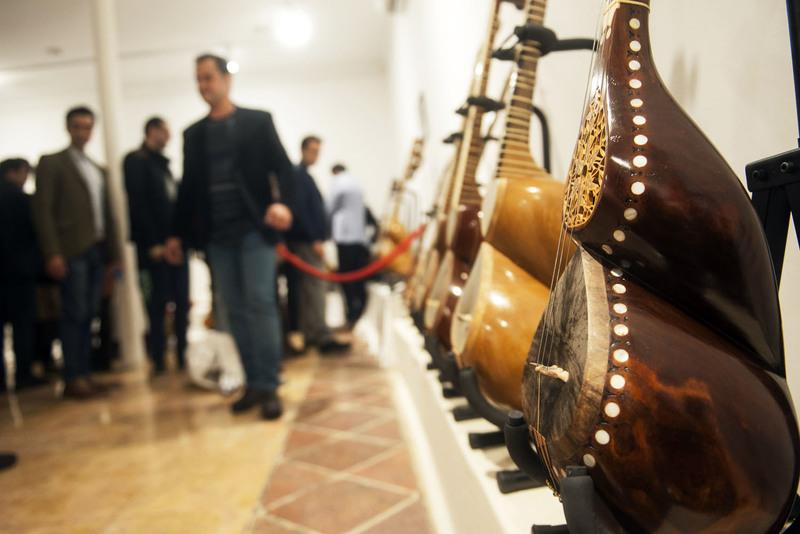 سومین دوره نمایشگاه سازخانه در خانه هنرمندان