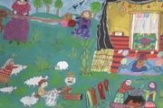 کودکان ایرانی برگزیده مسابقه نقاشی ژاپن