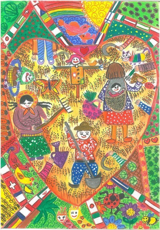 کودک ایرانی برای دومین سال متوالی جایزه اول نقاشی فائو رده سنی ۵ تا ۸ سال را از آن خود کرد