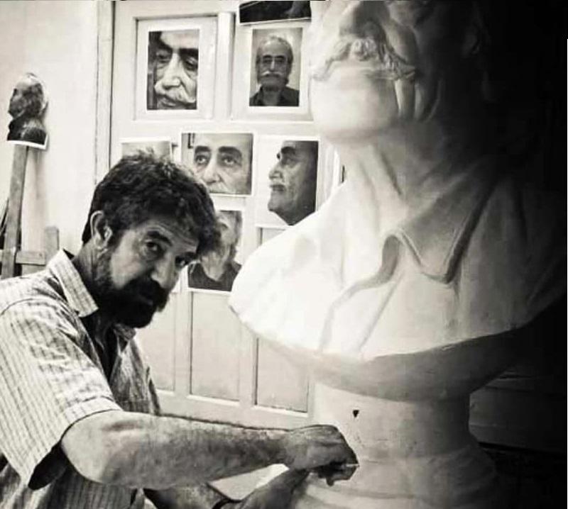 چهار دهه فعالیت هنری هادی ضیاالدینی