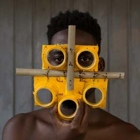 Mask for Our Times, by Serge Clottey