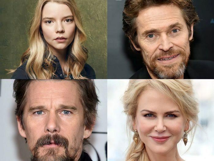نیکول کیدمن، آنیا تیلور جوی و دیگر ستارهها در فیلم شمالی حضور دارند
